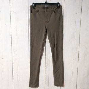 Vince Ponte Riding Pants Olive Green